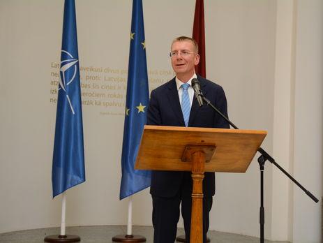 Кибервойна Российской Федерации против Запада может привести кчеловеческим жертвам— руководитель МИД Латвии