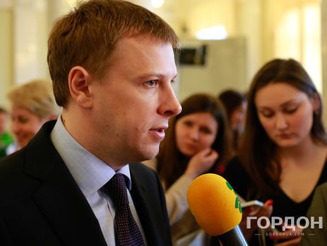 Хомутиннік неочолюватиме депутатську групу партії «Відродження» начас розслідування ГПУ— заява