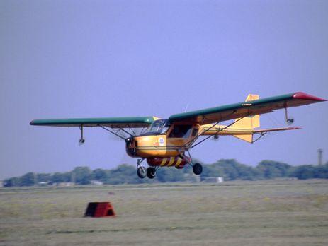 ВХарьковской области пилот выжил после крушения самолета
