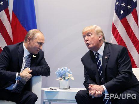 СМИ узнали опредложении В. Путина  Трампу понормализации отношений