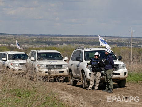 ОБСЕ установите взоне АТО дополнительные камеры видеонаблюдения
