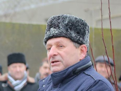 НаМайдане киевляне вышли поддержать политзаключенного крымского татарина Ахтема Чийгоза