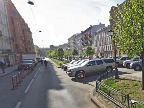 Ранее возле Генконсульства США в Санкт-Петербурге была стоянка для дипломатов
