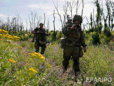 Под Крымским два украинских солдата были ранены вовремя обстрела изгранатомета
