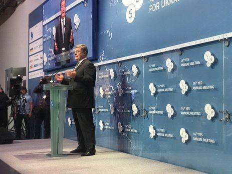 Порошенко: Ми будемо рухатися до повного членства у Євросоюзі і НАТО