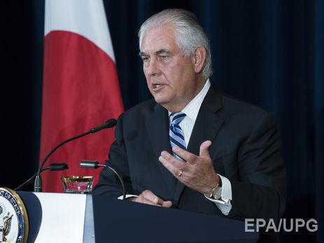 Тіллерсон закликав Росію та Китай прийняти заходи щодо КНДР з-за чергового ракетного пуску