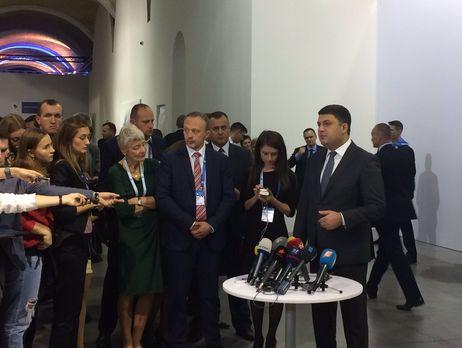 Гройсман заявил, что его зависимость от Порошенко преувеличена