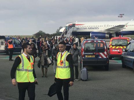 У Парижі з міркувань безпеки евакуювали рейс British Airways