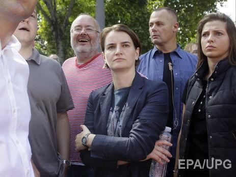 Прем'єр Сербії вийшла на ЛГБТ-парад у Белграді