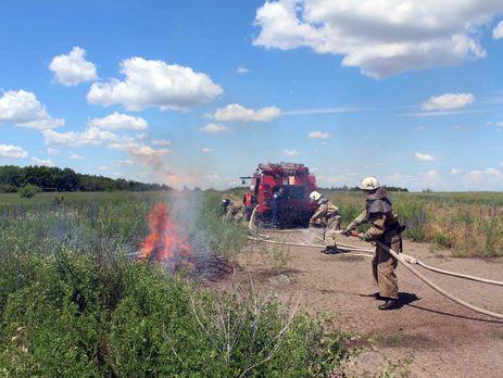 Унизці областей таКиєві найближчими днями очікується надзвичайна пожежна небезпека