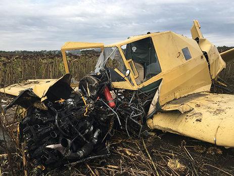 ВХмельницкой области разбился самолет, пилот в клинике, размещены фото