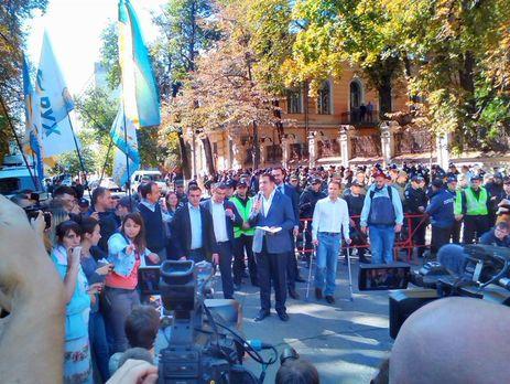 Саакашвили оштрафуют запересечение границы Украинского государства