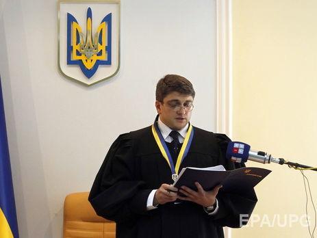 Апелляционный суд разрешил задержать судью Киреева