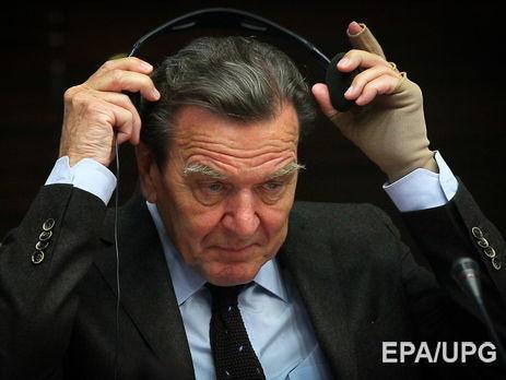 Шредер предсказал сохранение Крыма всоставе РФ при новом президенте