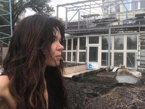 Вдом эстрадной певицы Русланы угодила молния: вweb-сети интернет появились впечатляющие кадры