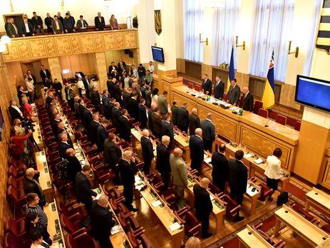 Закарпатские народные избранники просят Порошенко ветировать закон «Обобразовании»