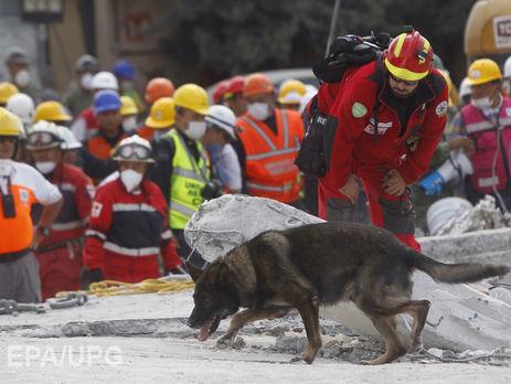 Кількість жертв землетрусу вМексиці перевищила 300 осіб