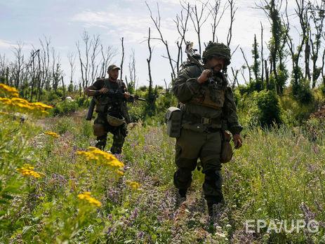 Штаб АТО: Боевики возобновили обстрелы, ранен один военный ВСУ