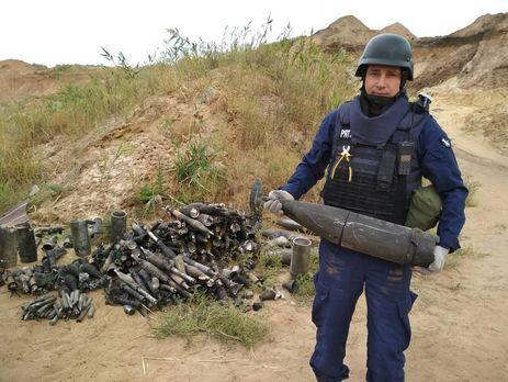 Пожар наскладе ВСУ вДонецкой области: ГСЧС проведет разминирование