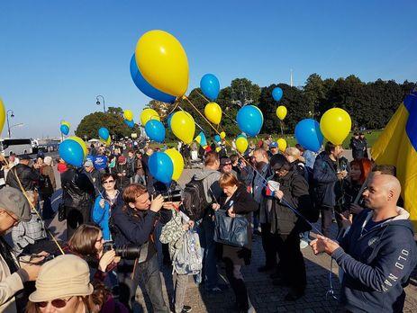 Несанкционированный «Марш Мира» вПетербурге прошёл без задержаний