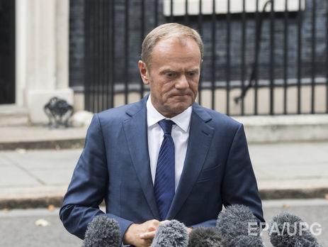 Туск объявил , что прогресса напереговорах поBrexit пока достигнуть  неудалось