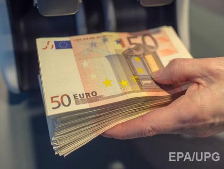 Официальные евро идоллар упали вцене