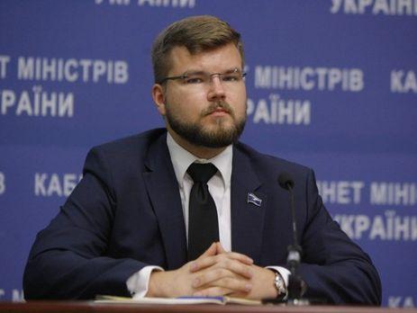 Кабмин утвердил контракт с и.о. главы'Укрзалізниці Кравцовым