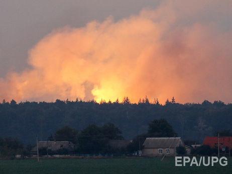 Вгосударстве Украина артиллерийские склады охраняли пьяные офицеры