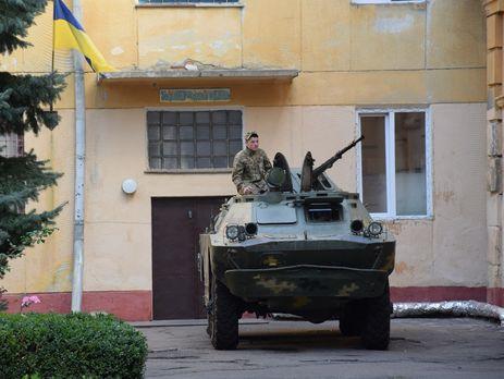 Військові посилили режим охорони важливих об'єктів унизці областей України