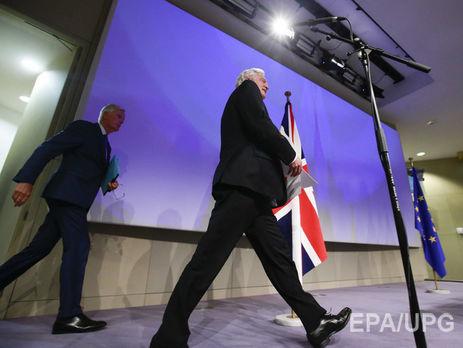 Англия сообщила орешающих шагах вперед впереговорах поBrexit