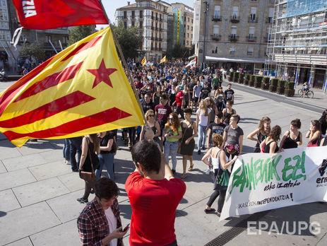 В Каталонии готовят референдум о независимости