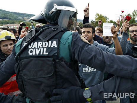 Украинцев среди пострадавших встолкновениях вКаталонии нет— консул