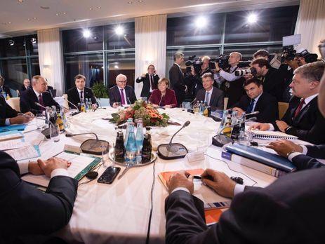 У В.Путина озвучили планы поконтактам в«нормандском формате»