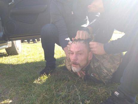 Один из задержанных участников преступной группы