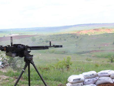 Боевики обстреляли позиции сил АТО вГнутове из«Градов»— Штаб