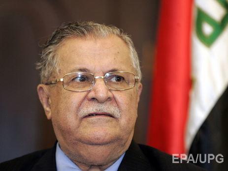 У Німеччині помер екс-президент Іраку Талабані