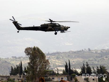 Тег: российский вертолет сбит в Сирии