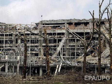 Вштабе АТО опровергли взятие украинскими военнослужащими аэропорта Донецка