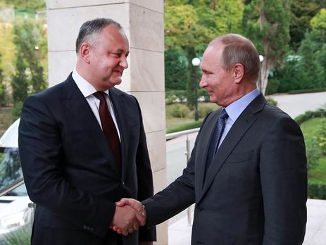 Додон пообещал перекрыть  любой антироссийский закон вМолдавии