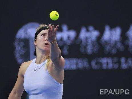 Свитолина из-за травмы снялась с соревнований в Гонконге за 10 дней до Итогового турнира в Сингапуре