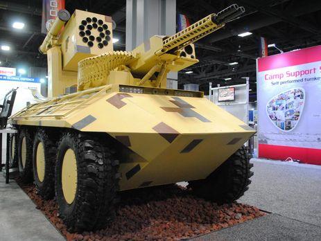 Киев собрался в 2018г  отправить в«АТО» боевого робота