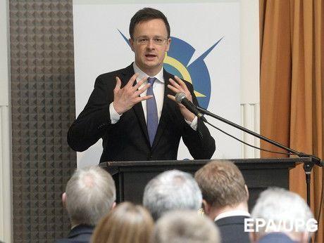 Будапешт продовжить виступати проти інтеграції України в ЄС— Глава МЗС Угорщини