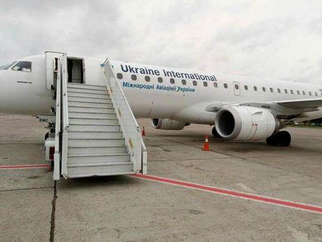 С борта самолета Киев – Баку сняли подозреваемого в совершении тяжкого преступления