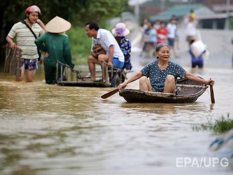 Число жертв повені у В'єтнамі зросла до 54 осіб