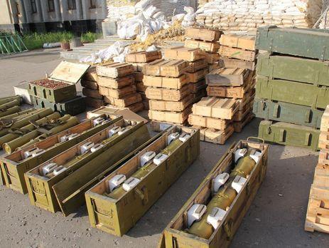 Генпрокуратура зафиксировала нарушения навоенных складах Черкащины