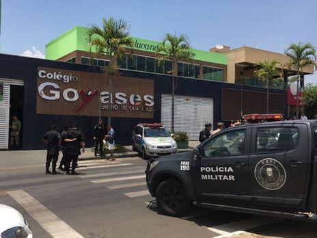 ВБразилии ребенок  открыл стрельбу вшколе: погибли два ребенка
