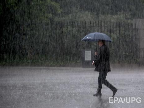 Держслужба зНС попереджає про сильні дощі наЗакарпатті