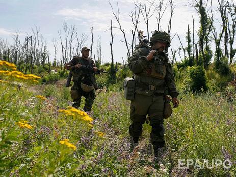 Штаб: Урезультаті протистояння біля Мар'їнки загинув один український військовий