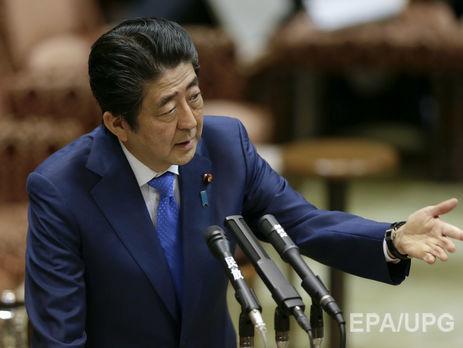 Япония будет использовать неменее решительную дипломатию вотношении КНДР,— премьер