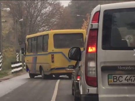 УЛьвові оштрафували водія маршрутки